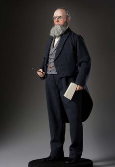 Full length color image of Edwin M. Stanton aka. Mars, by George Stuart.