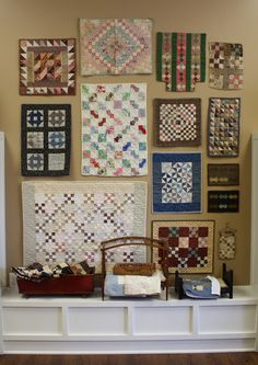 Antique Doll Quilts from the Temecula Quilt Co Show