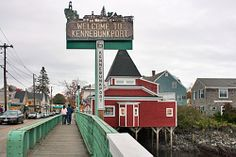 Kennebunkport, ME. Lobster. Beaches. A chance to meet the Bushes! There has to be at least one quiet bed and breakfast here...
