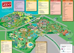 Omaha Henry Doorly Zoo - Maps - Maplets   Maps in 2019 ...