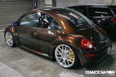 VW Beetle Slammed