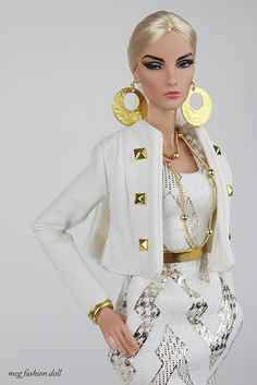 Spring Collection New outfit for Fashion Royalty, / FR 12 '/ FR04