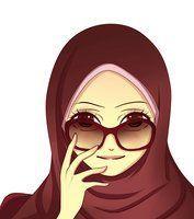 pake hijab plus kacamata keren juga :) Girl Cartoon, Cute Cartoon, Black Cartoon Characters, Manga Anime, Anime Art, Crown Illustration, Hijab Drawing, Islamic Cartoon, Anime Muslim