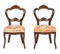 A-Pair-of-Victorian-Mahogany-Balloon-Back-Chairs $259