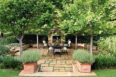 Breezy Porches and Patios. Garden Oasis Patio