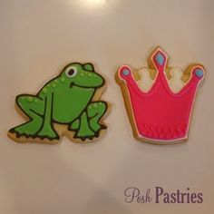 frog and princess cookie