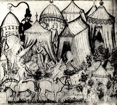 A 14th-century Italian camp picture
