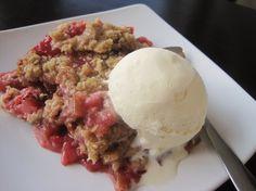Strawberry Rhubarb Crunch Recipe - Food.com