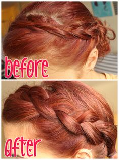how to: get a thick bohemian braid - even if you have thin hair!  Easiest, simplest, and most obvious thing ever! #HairBraids