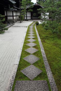 The Zen garden in Ryousokuin temple in Kenninji, 建仁寺 Higashiyama, Kyoto