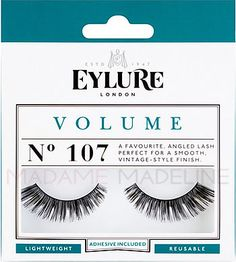 Eylure Naturalites VOLUME Lashes N° 107 has angled lash perfect to enhance the natural beauty of your eyes.  #eylure #falselashes