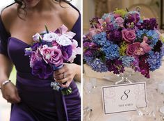 Christine Gennaro Weds Brian Meberg at Pleasantdale Chateau • Flowers: La Vie En Rose Floral Designs, NY • New Jersey Bride Real Weddings • http://www.newjerseybride.com/realweddings/christine-gennaro-brian-meberg/