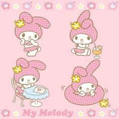 Sanrio Animated Gifs: My Melody:)