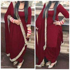 Salwar Suit keeps Punjabi Suits Designer Boutique, Indian Designer Suits, Indian Suits, Indian Dresses, Indian Wear, Boutique Suits, Indian Style, Kurta Designs, Patiala Suit Designs