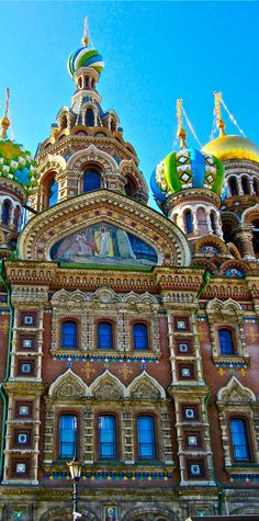 The Church of the Savior on Spilled Blood, St.Petersburg, Russia - a UNESCO World Heritage Site