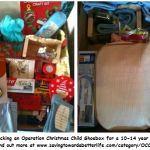 Operation Christmas Child Box Packed   10-14 Year Old Girl