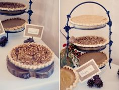 Rustic Wedding Chic...pies