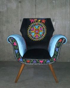 Hey, I found this really awesome Etsy listing at https://www.etsy.com/listing/156204514/suzani-chair