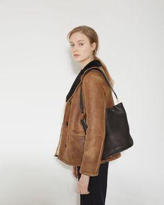 Marni | Leather Bucket Bag | La Garçonne