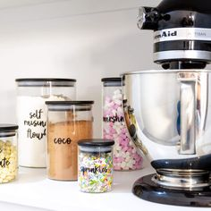 ℂ𝕦𝕤𝕥𝕠𝕞 ℙ𝕒𝕟𝕥𝕣𝕪 𝕃𝕒𝕓𝕖𝕝𝕤  Do you do custom pantry labels or labels for other areas of the home where I can choose what I want written?  Custom labels are our specialty! All our labels are completely customisable. If you would like a label for your pantry containers that aren't part of any of our packs, it's really simple to purchase.  Head to our custom kitchen pantry labels and just select the quantity of labels you want.  Be sure to follow the instructions on how to order… Kitchen Jar Labels, Pantry Labels, Kitchen Pantry, Studio Apartment, Apartment Ideas, Custom Pantry, Kitchen Organisation, What I Want, Custom Labels