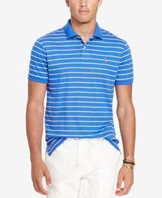Polo Ralph Lauren Men's Pima Soft-Touch Polo - Blue M