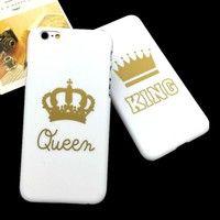 Product Description *Color: white&gold *Feature1: High Quality Plastic Phone Case *Feature2: Dirt-re