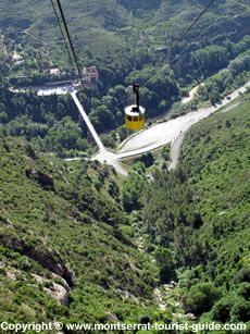 half-day trip to Montserrat Mountain  Train-cable car (hike optional)