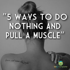 Have you ever pulled a muscle or injured yourself just by doing nothing?  Read this article to learn how to be a rockstar every day!  Strong women, stretch, injuries, muscles
