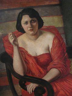 Mulher de Vermelho by Rossi Osir