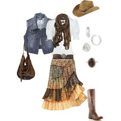 Frontier Days, created by ankney-stacey on Polyvore