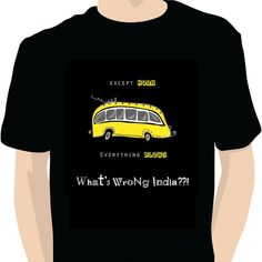"The Indian Bus - With the conductor calling at the top of his voice, driver abusing the vehicular and pedestrian traffic, passengers gossiping and instructing the ""Driver Bhaiya"" and every part of the bus making an effort to get noticed ; who the hell still needs a fu***ng horn."