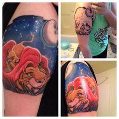 #tattoo #lionking #simba #mufasa