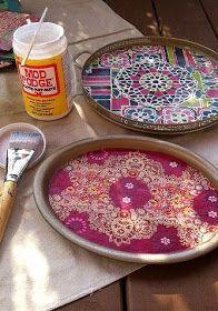 Quirky Bohemian Mama: Boho on a Budget: 10 DIY Home Decor Projects {DIY bohemian}