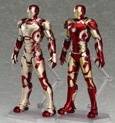 ToyzMag.com » figma Iron Man Mark 42 & 43