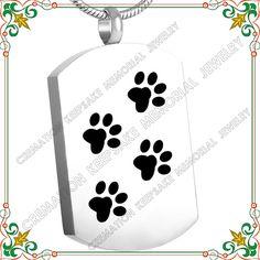 Memorial dog tag