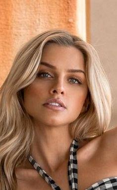 Most Beautiful Faces, Beautiful Eyes, Beautiful Women, Swedish Women, Marina Laswick, Canadian Models, Le Jolie, Blonde Beauty, Woman Face