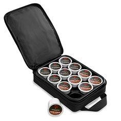 Coffee Pod Carrying Case with OXX Logo >>> Read more at the image link. (This is an affiliate link) #SingleServeCapsulesandPods