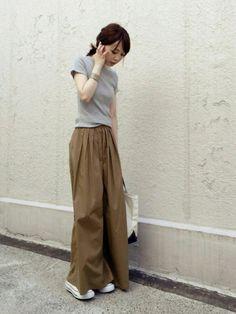 Spick and Span Nobleのパンツ「タックボリュームワイドパンツ◆」を使ったari☆のコーディネートです。WEARはモデル・俳優・ショップスタッフなどの着こなしをチェックできるファッションコーディネートサイトです。