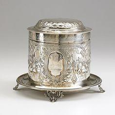 ~ Sterling Silver Biscuit Barrel ~ uk.images.search.yahoo.com