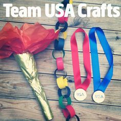 Fun Olympic-Themed Crafts!