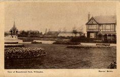 Old Postcard - Roundwood Park  Postmarked 16 December 1904