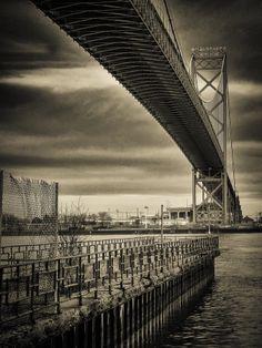 Ambassador Bridge  by Steven Wosina, via 500px