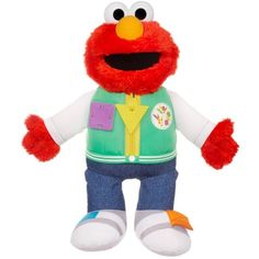Playskool Sesame Street Steps to School Ready for School Elmo >>> You can find out more details at the link of the image. (This is an affiliate link) #PlushFigures