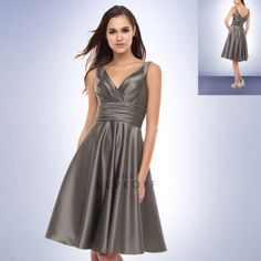 Yes! The right bridesmaid dress! Add the yellow flowers and yellow shoes and it is just right :)