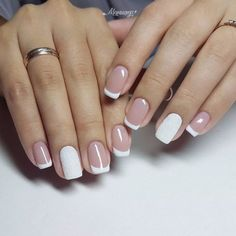 Easy nail art design ideas to try - pretty nail polish inspiration. If you're bored of your classic, monotone nail color and want to try out something pretty these Easy nail art design ideas to try. Latest Nail Designs, Simple Nail Art Designs, Easy Nail Art, Acrylic Nails, Gel Nails, Nail Polish, Gradient Nails, Holographic Nails, Stiletto Nails