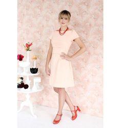 Un patron de couture adulte Colette pattern, la robe rétro Peony
