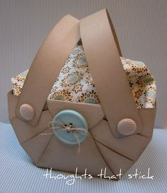 BASKET- tried the tutorial and its great. Easy to follow and really cute.  A+