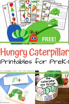 Young learners will love this amazing collection of The Very Hungry Caterpillar printables! Find activities for grades Childcare Activities, Sequencing Activities, Kids Learning Activities, Kindergarten Activities, Toddler Activities, Very Hungry Caterpillar Printables, Hungry Caterpillar Craft, Preschool Weekly Themes, Birthday Banners