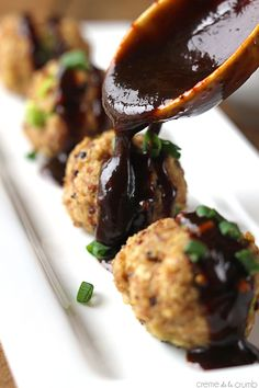 Asian Turkey Quinoa Meatballs
