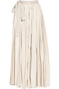 Lanvin Taffeta maxi skirt NET-A-PORTER.COM - StyleSays